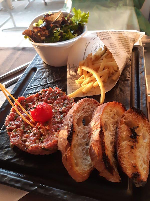 Tartare de Boeuf - Restaurant du Tennis Lausanne
