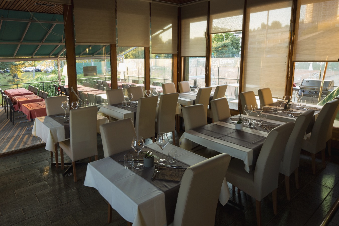 intérieur, Restaurant du Tennis Lausanne