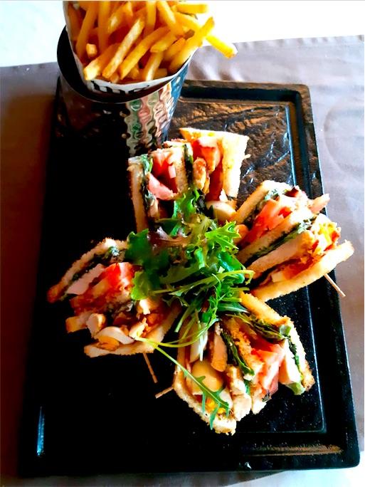 Sandwich club stade lausanne, restaurant du tennis lausanne vidy