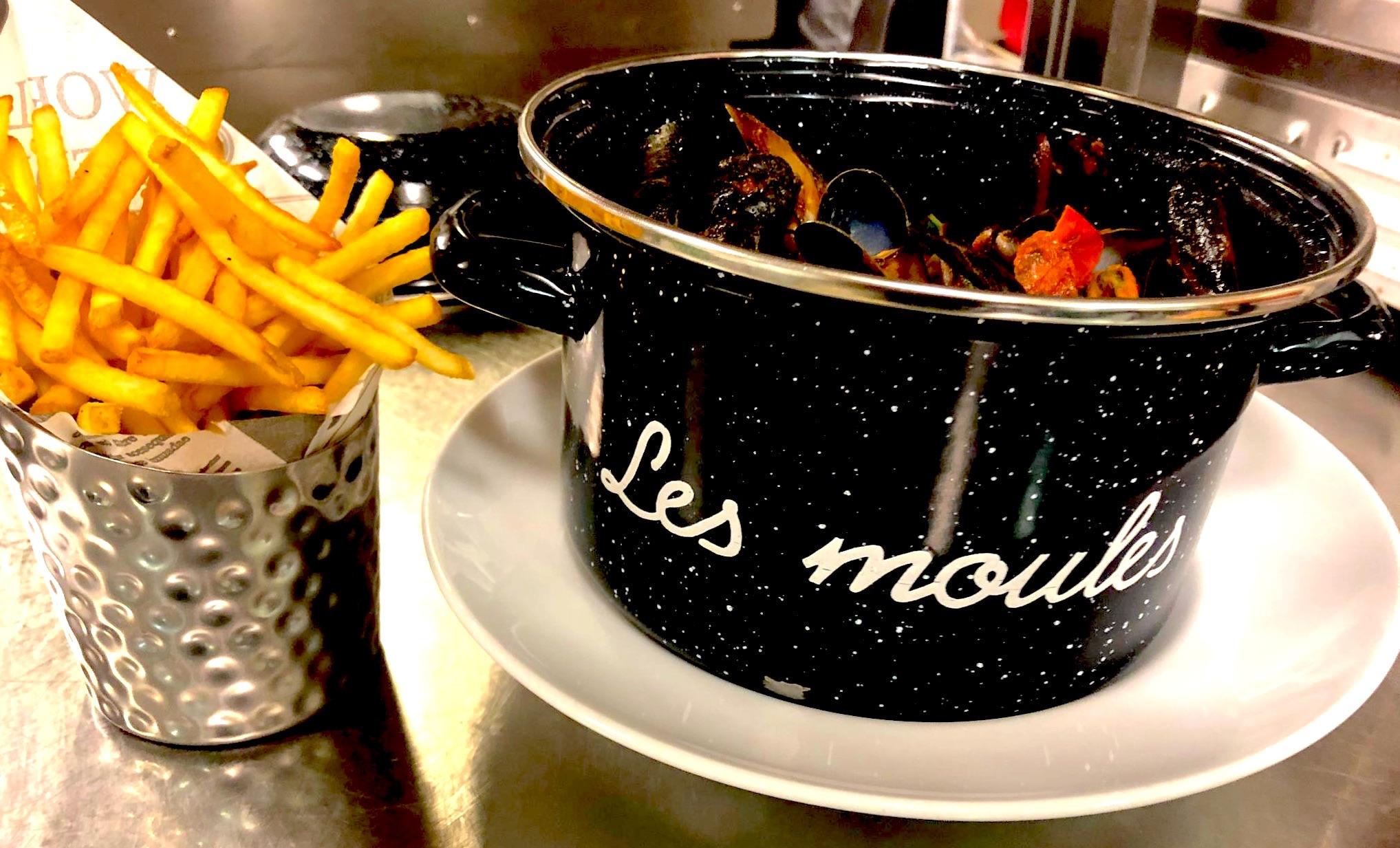 Moules, restaurant du tennis lausanne